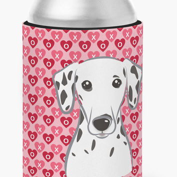 Dalmatian Hearts Can or Bottle Hugger BB5280CC