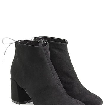 McQ Alexander McQueen - Black Suede Ankle Boots