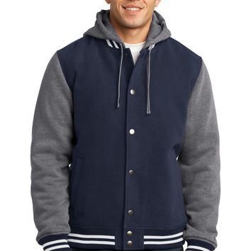 Sport-Tek Insulated Letterman Jacket. JST82