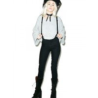 JAMES SKINNY JEANS WITH SUSPENDERS