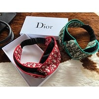 Dior Crossing hairband around the edge Headband