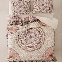 Myra Paisley Jersey Duvet Cover | Urban Outfitters