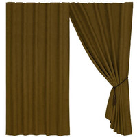 HiEnd Accents Curtain, Tan