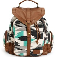Billabong Take Me With You Tribal Print Rucksack Backpack