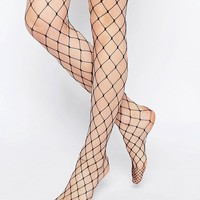 ASOS | ASOS Oversized Fishnet Tights at ASOS