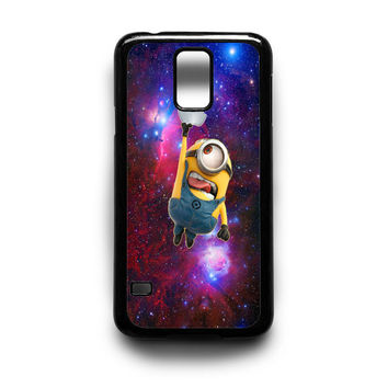Minion Catch Apple in Galaxy Samsung S5 S4 S3 Case By xavanza