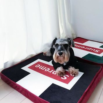 Supreme Mat Pets Winter Suede Dog's Sofa