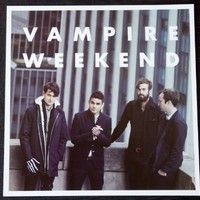 Vampire Weekend - Modern Vampires of the City - Rare 2-sided Advertising Poster - 12x12