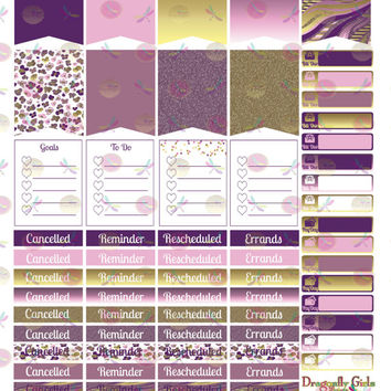 50% OFF Sale! DIY September Printable Planner 68 Stickers Sheet 2 of Kit in PDF and jpeg Erin Condren Life Planner Kikkik Filofax