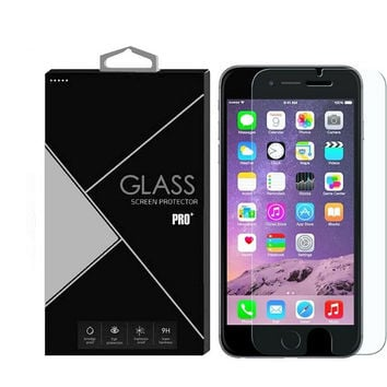 Premium Real Clear Slim Tempered Glass Screen Protector for iphone Samsung iphone6