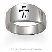 Narrow Crosslet Ring from James Avery