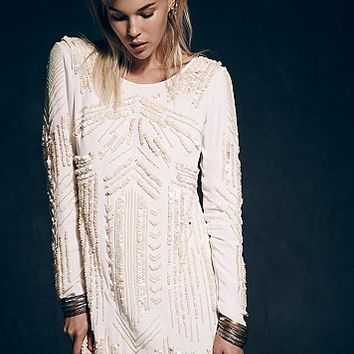 Free People Womens Limited Edition Jess Holiday Dress - Ivory