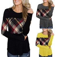 Burberry Long sleeves with collision colors and stitching