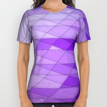 Ode to Purple All Over Print Shirt by DuckyB (Brandi)