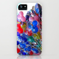 Disney Balloons iPhone & iPod Case by Ashleigh E. Myers