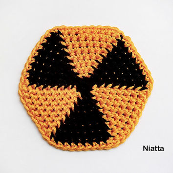 Best table doilies products on wanelo - Radioactive coasters ...