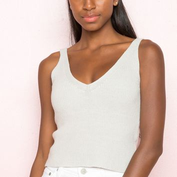 Danielle Knit Tank - Tops - Clothing
