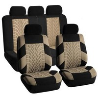FH Group Beige and Black 'Travel Master' Car Seat Covers - Free Shipping Today - Overstock.com - 17838333 - Mobile