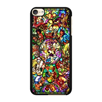 All Character Disney Stained iPod Touch 6 Case