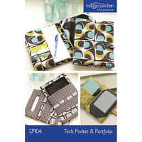 Tech Pouch and Portfolio, Pattern, Indygo Junction Designs