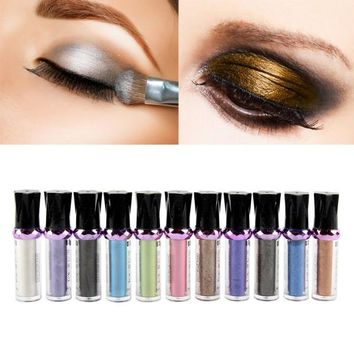 Single Pigment Glitter Roller Eyeshadows Powder