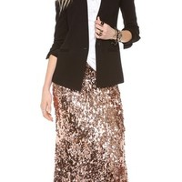 Sequins for Miles Maxi Skirt