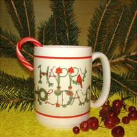 Christmas Holidays Ceramic Mug Cardinal Holiday Decor Coffee