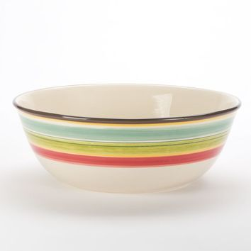 Bobby Flay Santa Fe Striped Bowl