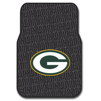 Green Bay Packers NFL Car Front Floor Mats (2 Front) (17x25)