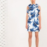 KEEPSAKE Deep Down Dress WEDGWOOD FLORAL