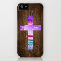 Isaiah 53 - Easter | The cross iPhone Case by Pocket Fuel | Society6