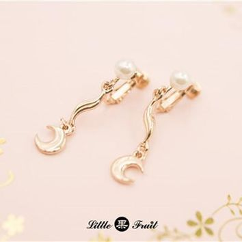 New coming one pair Anime Sailor Moon 20th Anniversary Earing Earrings Ear Studs Gift New with Box Free shipping