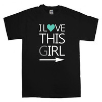 this guy this girl T-shirt unisex adults