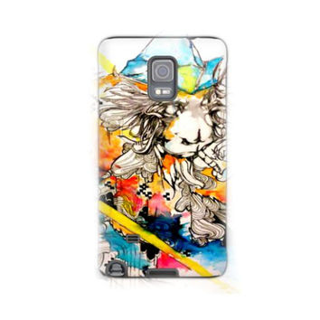 Samsung Note 4 - Note 4 case - Phone case - Phone cover - Note 4 cover - Cell Phone case - Monkey phone case - Animal art - Monkey art