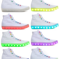 Light The Way High-Top Sneakers