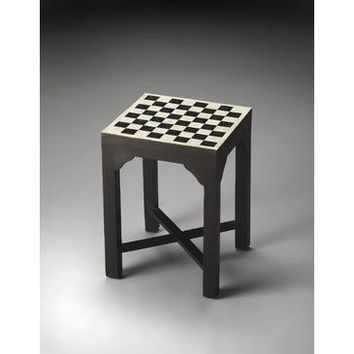 Butler Bone Inlay Bishop Bunching Chess Table In Bone Inlay In Heritage 3206070