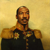 Eddie Murphy - replaceface Art Print by Replaceface