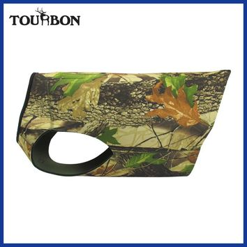 Tourbon Hunting Dogs Vest Outdoor Dog Waistcoat for Chest Protector Camo Jacket Clothing Neoprene