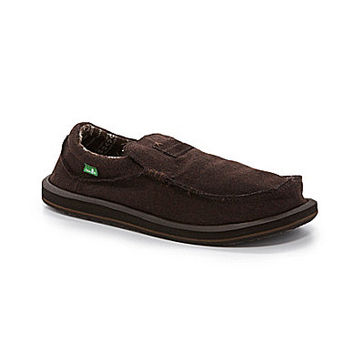 Sanuk Men's Kyoto Felt Casual Slip-On Shoes