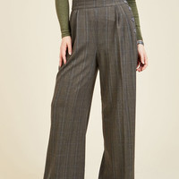 Perfected Productivity Pants in Plaid | Mod Retro Vintage Pants | ModCloth.com