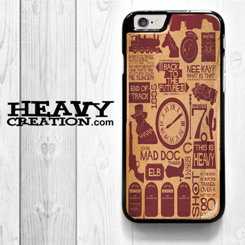 Back To The Future Flux for iPhone 4 4S 5 5S 5C 6 6 Plus , iPod Touch 4 5  , Samsung Galaxy S3 S4 S5 S6 S6 Edge Note 3 Note 4 , and HTC One X M7 M8 Case