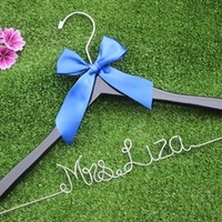 personalized Wedding Hanger Bridal Dress Hanger Custom bride bridegroom hanger, Gift for Bridesmaid-in Event & Party Supplies from Home & Garden on Aliexpress.com | Alibaba Group