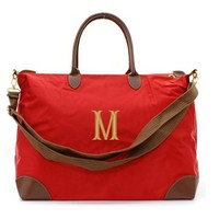Personalized Red Longchamp Style Weekender Carry On Bag 25% Off Retail Price of $39.95 Now Only $29.95 While Supplies Last