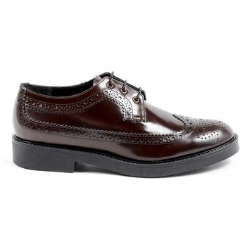 V 1969 Italia Womens Brogue Shoe Bordeaux TRENTO