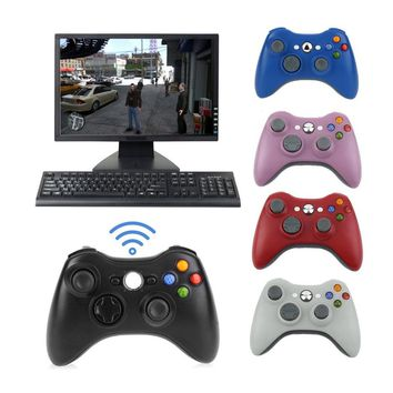 For XBOX 360 2.4G Wireless Gamepad Game Remote Controller Joystick With USB Reciever For Microsoft Xbox 360 Console PC Game Pad