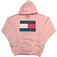 Tommy Hilfiger Casual Long Sleeve Pullover Sweatshirt Top Sweater Hoodie