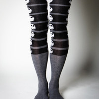 Nightmare Before Christmas Over the Knee Socks in Stuff to Wear New