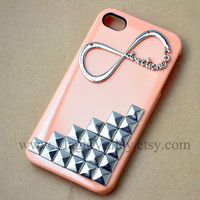 One Direction Iphone 4s Case Iphone 4 case Infinity by MagicValley