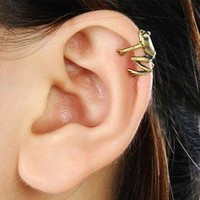 Vintage Little Frog Ear Cuff from looback