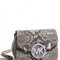 Michael Kors Dark Sand Cross Body Bag 43% off retail